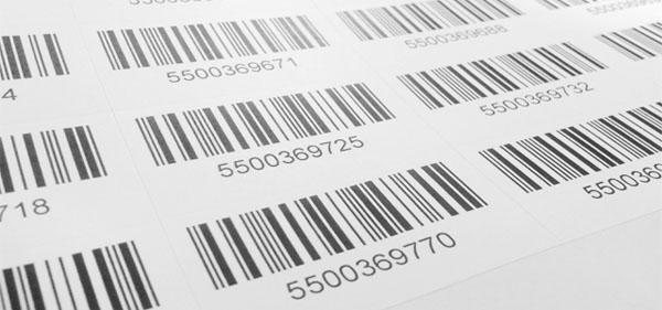 Etiquetas de códigos de barra